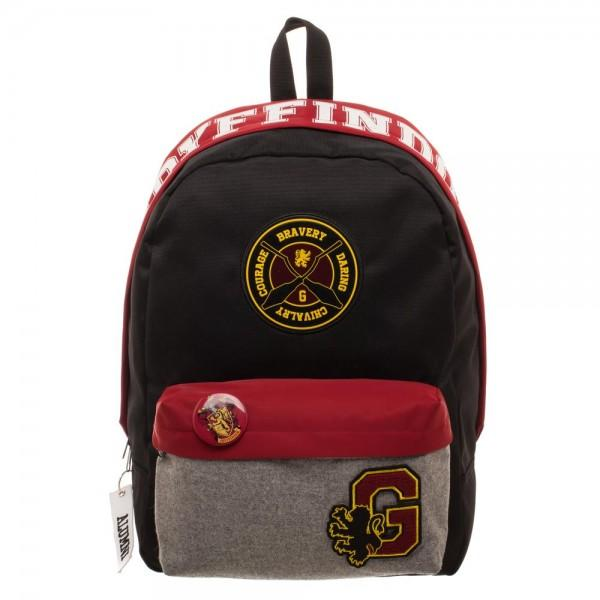 Harry Potter Gryffindor Backpack  - Polka Dotted All The Things Boutique