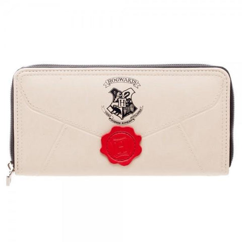 Harry Potter Letter Zip Around Wallet  - Polka Dotted All The Things Boutique