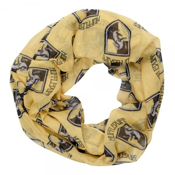 Harry Potter Hufflepuff Viscose Scarf  - Polka Dotted All The Things Boutique