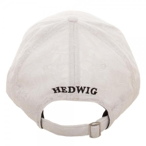 Harry Potter Lace Hedwig Dad Hat  - Polka Dotted All The Things Boutique