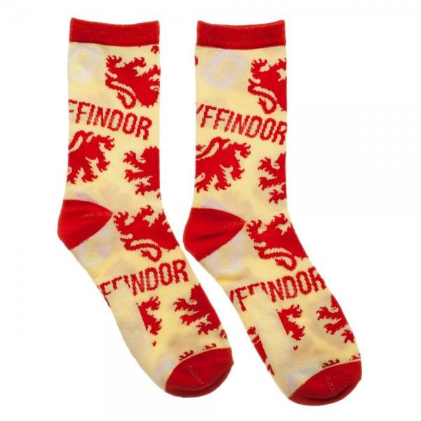 Harry Potter Gryffindor Juniors Crew Socks - Angel Effect Shop