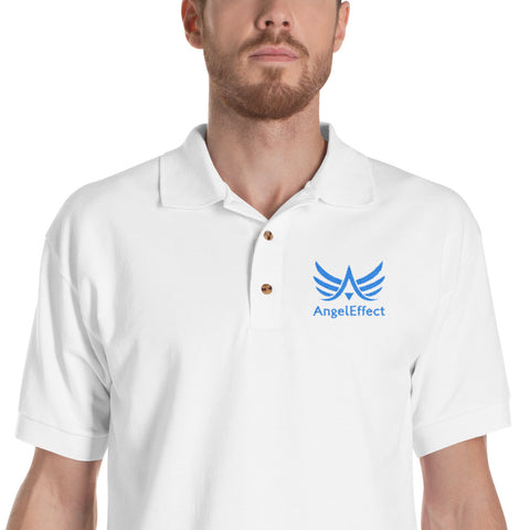 Polo Brodé Angel Osez Rêver en Grand - Angel Effect Shop