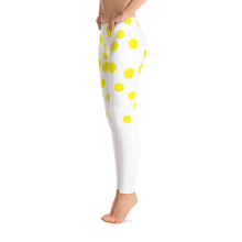 Yellow Polka Dot Leggings