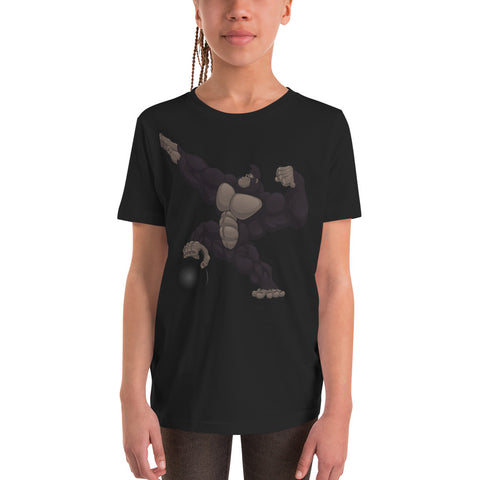 T-shirt Enfant Gorilla à manches courtes - Angel Effect Shop