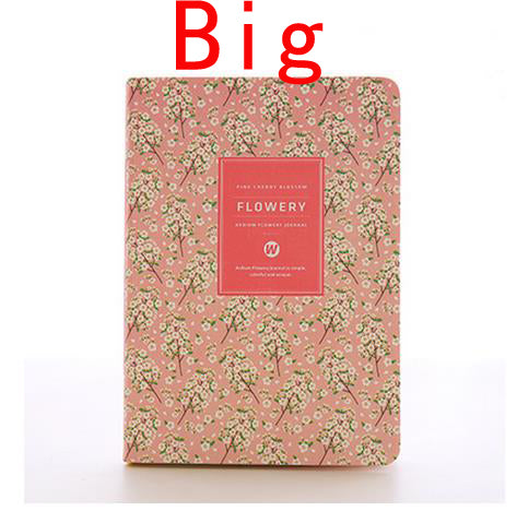 Floral Flower Weekly Monthly Planner Organizer Notebook journals - Polka Dotted All The Things Boutique