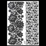 1PC Temporary Tattoo Women Black Ink Henna  - Polka Dotted All The Things Boutique