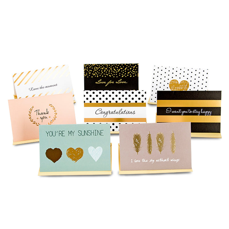 vintage greeting cards with envelopes for all purpose,congratulations/thank you cards journal - Polka Dotted All The Things Boutique