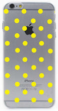 Cute Polka Dot Hard Transparent Case Cover for iPhone 7 7 Plus 6 6S Plus 5 5S SE 5C 4 4S