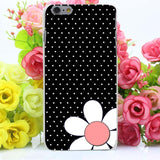 Coque transparent mignon à pois pour iPhone - Angel Effect Shop