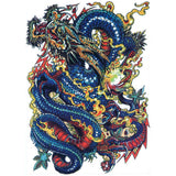 Waterproof Temporary Dragon Tattoos - Temp Tattoos