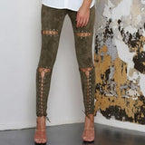 Pantalon Crayon design Leggings Angel pour Femme - Angel Effect Shop