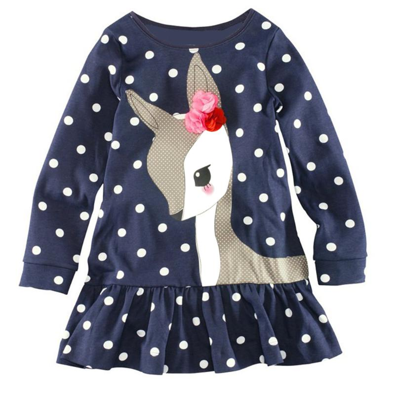 Nouvelle Robe Princesse Angel À Pois - Childrens Fashion
