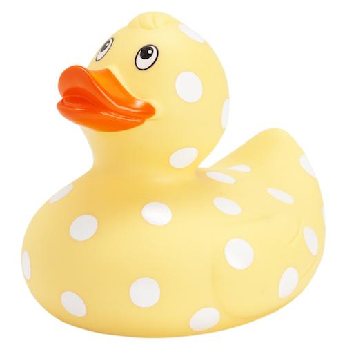 Rubber Duck Pastel Yellow - 9cm