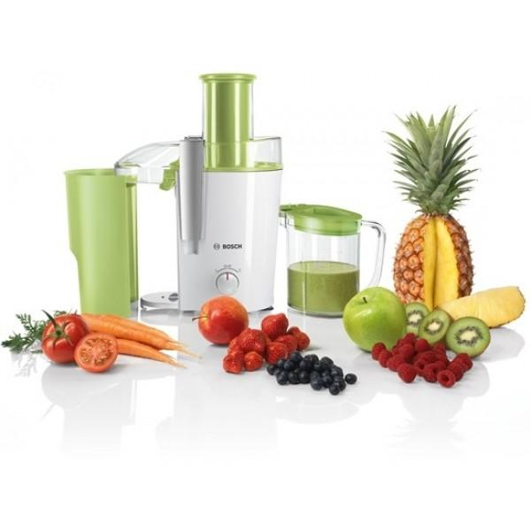 Bosch Juicer White and Apple Green
