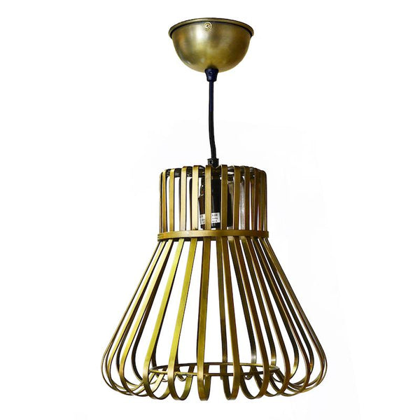 Gold Wire Pendant Light 26cm