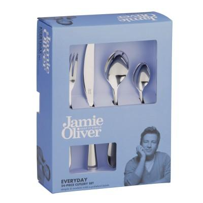 Jamie Oliver Everyday Stainless Steel Cutlery Set 24 Piece