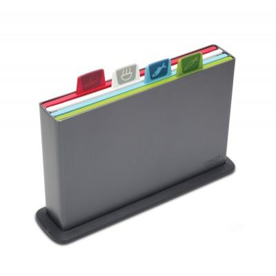 Joseph Joseph Index Chopping Board Set Graphite
