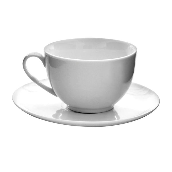 Just White Cup and Saucer 200ml