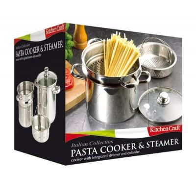 KitchenCraft Stainless Steel Pasta Pot