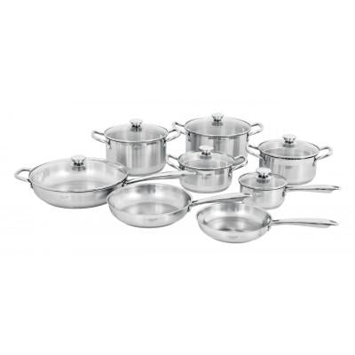 Legend Vision Chef 14 Piece Cookware Set Stainless Steel