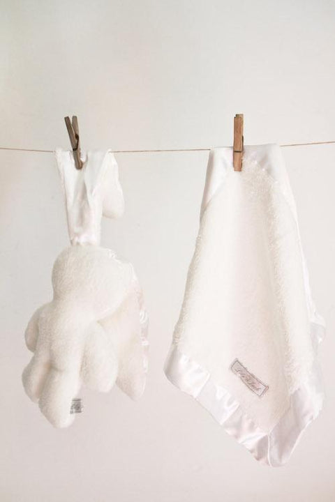 Snuggle Bunny set White on White