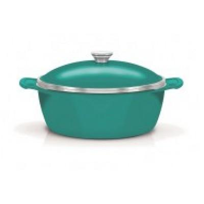 Tramontina Aluminium Round Casserole with internal Non Stick Coating 30cm