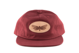 Unstructured Hat w/ Moth