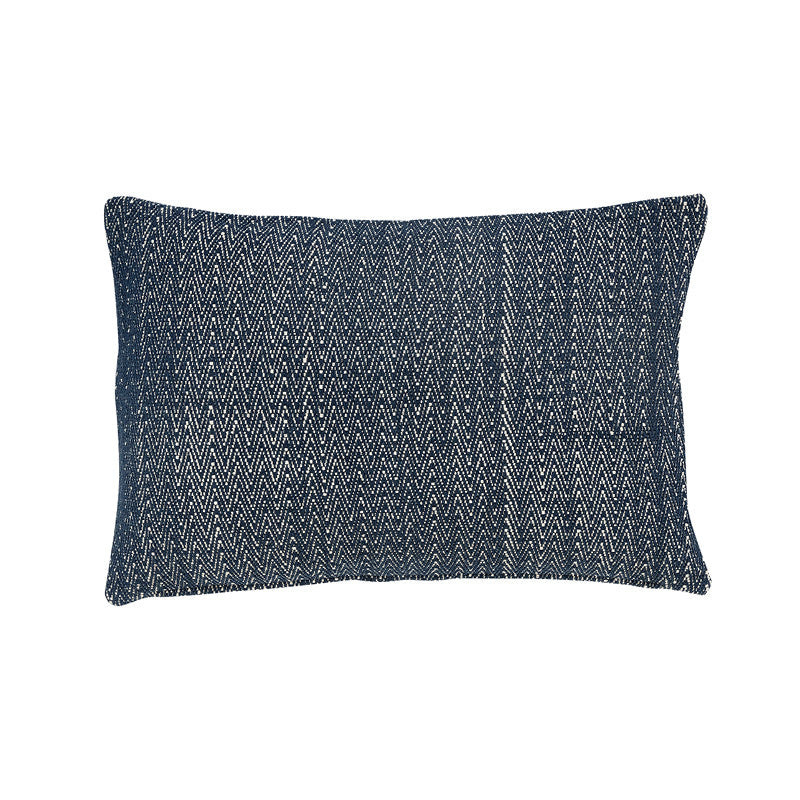 Zigzag blue cushion - ONE HOUSE