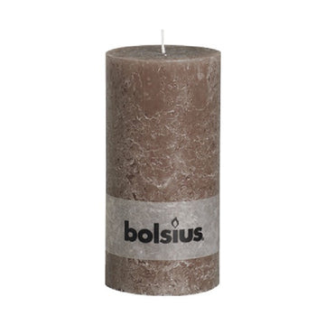 Taupe rustic candle - ONE HOUSE