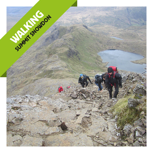 Summit Snowdon this April