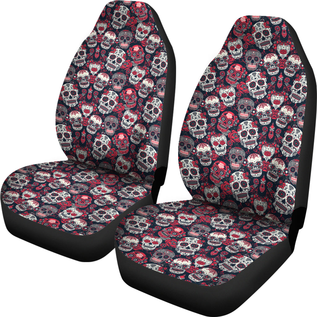 Sugar Skull Car Seat Covers Tap To Expand
