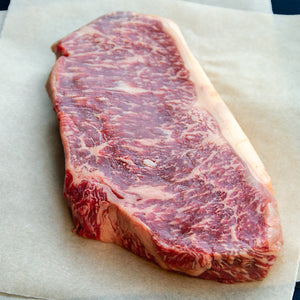 New York Strip, Boneless, Wet Aged