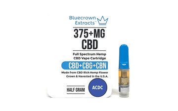 Full Spectrum Raw Hemp 75% CBD Distillate Vape Cartridge with Natural Terpenes-CBD Vape Cartridge-Bluecrown Extracts™