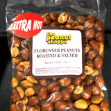 Extra Hot Roasted & Salted Florunner Peanuts