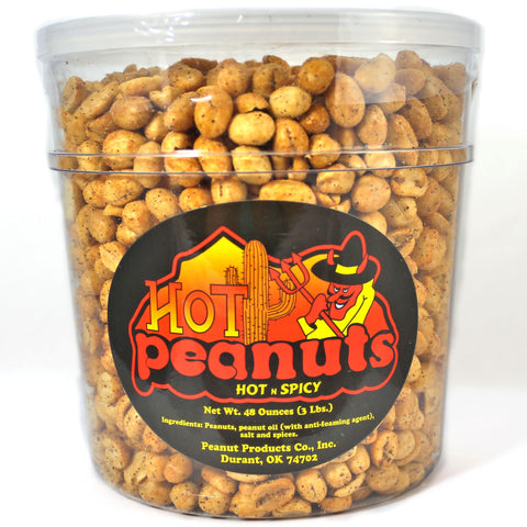 Hot & Spicy Peanuts