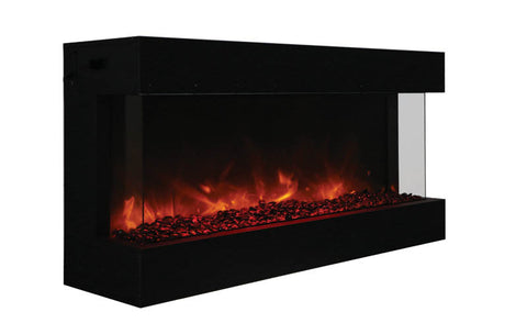 Amantii TRU-VIEW-XL Indoor/Outdoor 3 SIDED Electric Fireplace