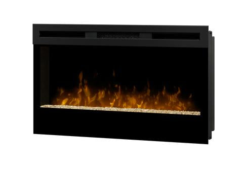 "Dimplex Wickson 34"" Linear Electric Fireplace - BLF34"