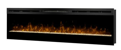 "Dimplex Galveston 74"" Linear Electric Fireplace Wall Mount - BLF74"