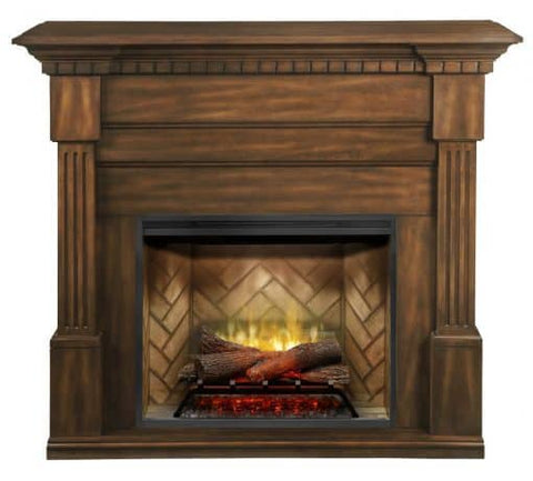 Christina BuiltRite Fireplace Mantel in Burnished Walnut - BM3033-1801BW