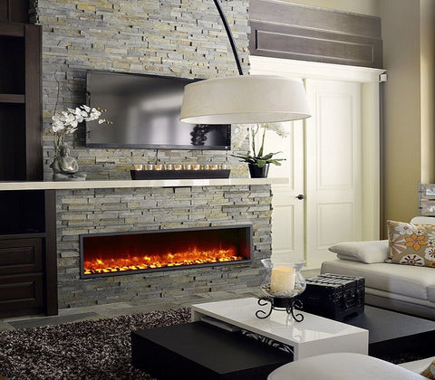 "Dynasty 55"" Built-In Electric Fireplace - DY-BT55"