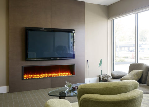 "Dynasty 63"" Built-In Electric Fireplace  - DY-BT63"