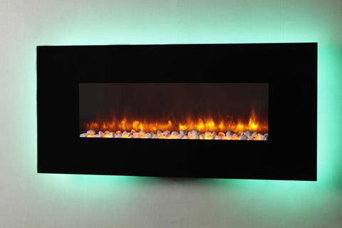 Dynasty EF69-P Wall Mount Electric Fireplace - EF69-P
