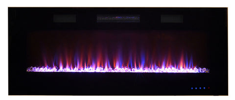 "SIMPLY ELECTRIC FIREPLACES ONLINE PARAMOUNT 50"" FRONT  VENTING SLIM WALL MOUNT WALL MOUNTED - EF‐WM350 MO"