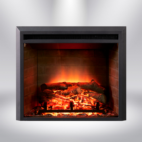 "Dynasty Zero Clearance 28"" Plug-in Electric Fireplace - EF43D"