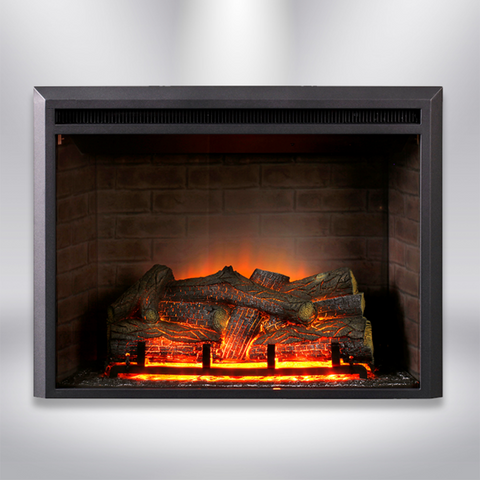 "Dynasty Zero Clearance 32"" Plug-in Electric Fireplace - EF44D"