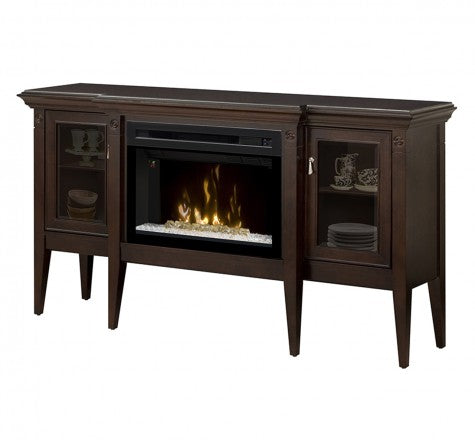 Dimplex Upton Electric Fireplace W/ Acrylic Ice Media Console - GDS25HG-1253E