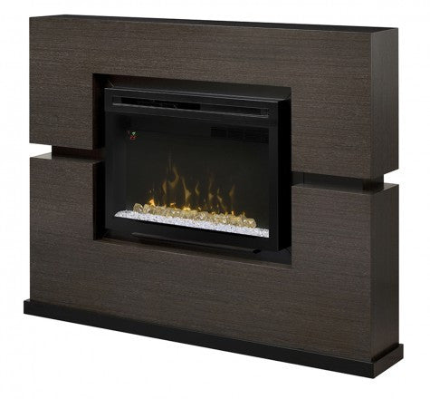 Dimplex Linwood Electric Fireplace Mantel Package in Grey Rift - GDS33HL-1310RG