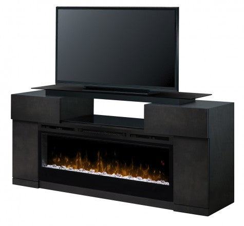 Dimplex Concord Electric Fireplace Media Console in Dark Grey - GDS50G5-1243SC