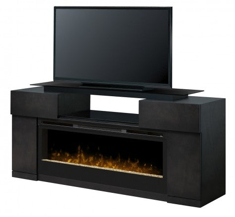 Dimplex Concord Electric Fireplace Media Console in Dark Grey - GDS50-1243SC