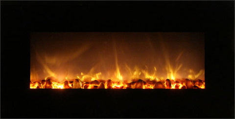 SIMPLY ELECTRIC FIREPLACES ONLINE MODERN FLAMES FF-43BILV WALL MOUNTED ELECTRIC FIREPLACE